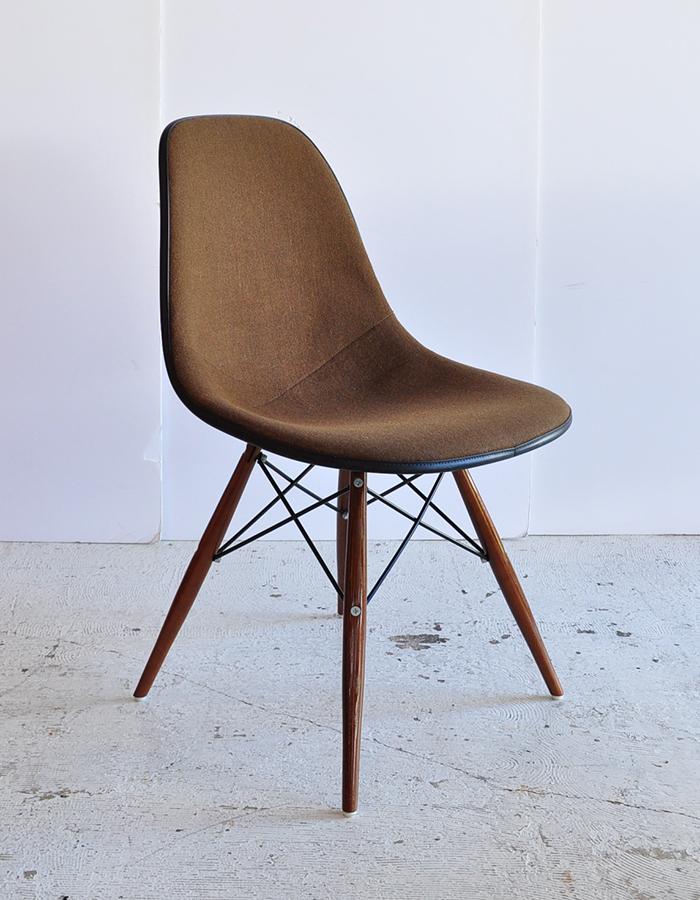 eames sideshell chair brown